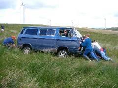 Getting stuck