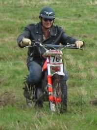 Rob on trials bike