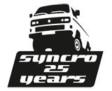The 25 years Syncro event website